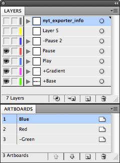 Export Illustrator Layers and/or Artboards as PNGs and PDFs